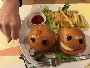 ポップくんバーガー大きさ2