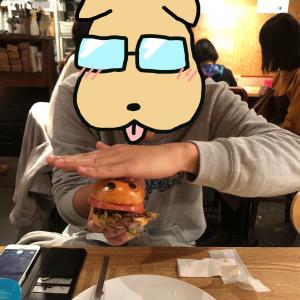 ポップくんバーガー(押し)